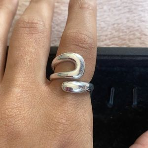 Statement Wrap 925 Sterling Silver Ring